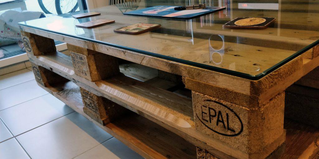 Construire Une Table Basse Avec Des Palettes Edouard