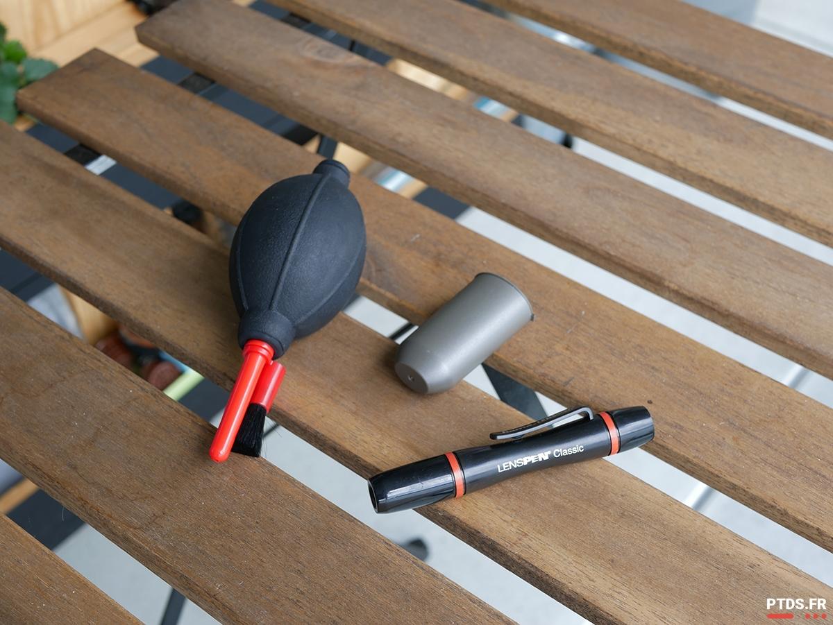 Kit nettoyage - Quelques accessoires photo pour bien débuter