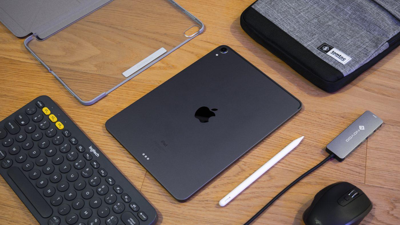Ma sélection d'accessoires pour iPad Pro 2018