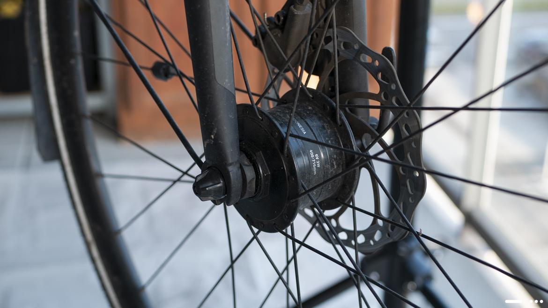 Éclairage Vélo : dynamo moyeu
