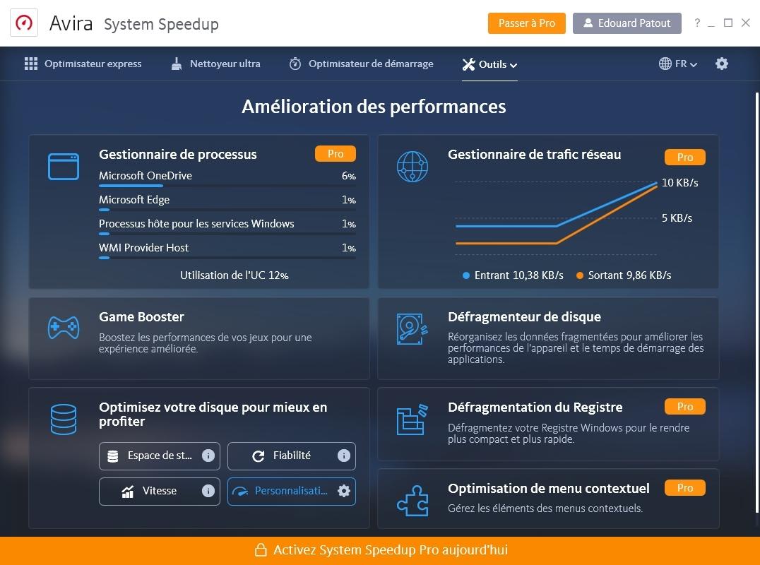 Avira Free Security - System Speedup