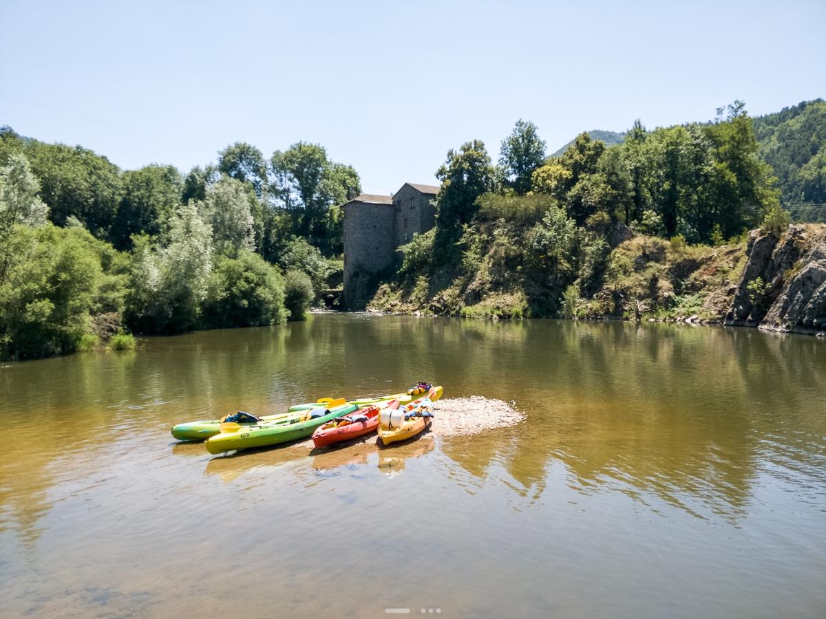 Canoë - Vacances Auvergne 2020