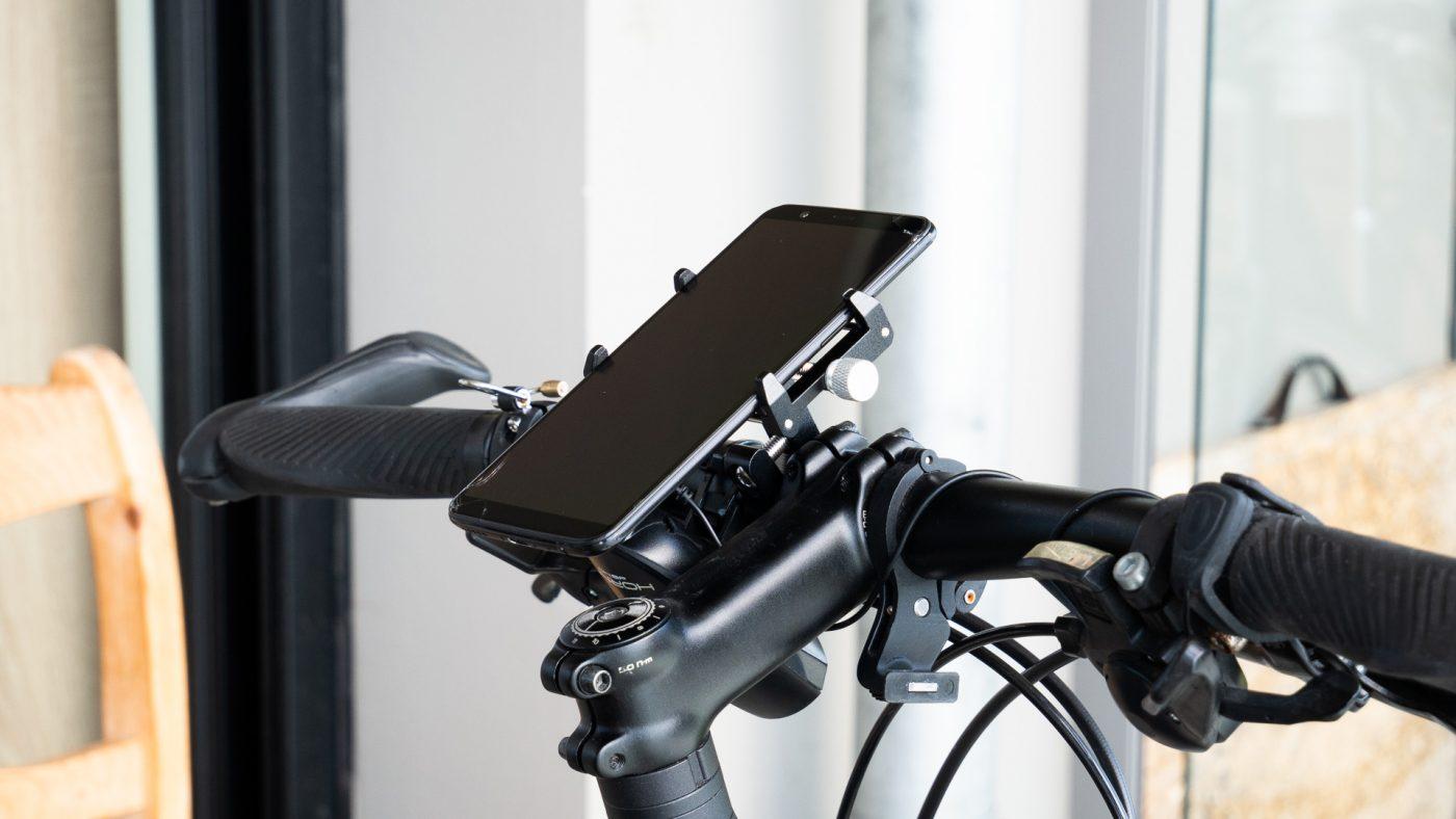 Test du support smartphone pour vélo Gub Pro 1 5