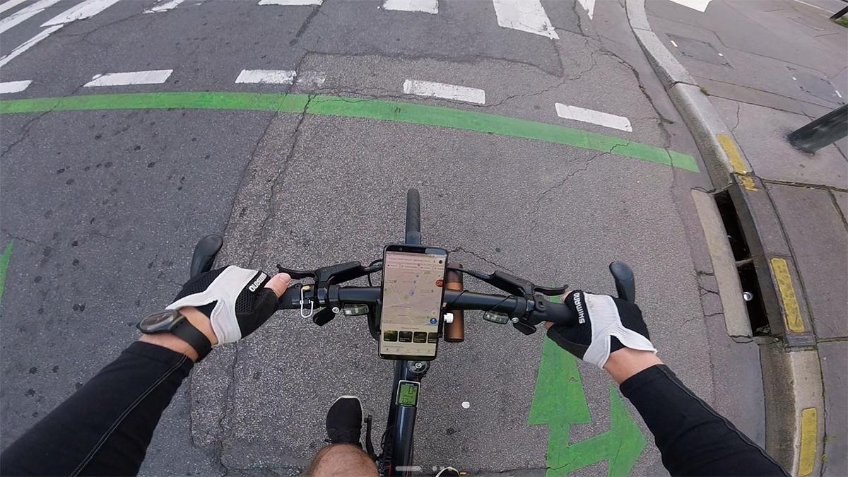 Test du support smartphone pour vélo Gub Pro 1 12