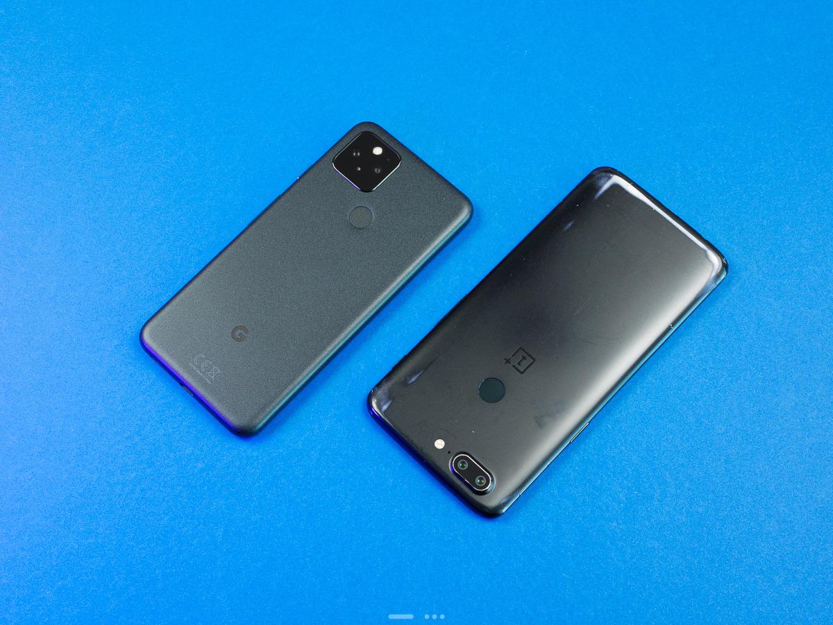 Google Pixel 5 : il remplace mon OnePlus 5T