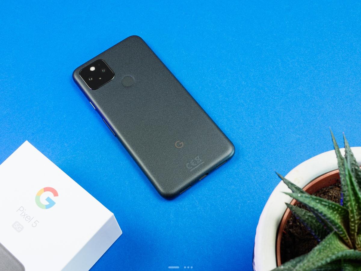 Google Pixel 5 : dos