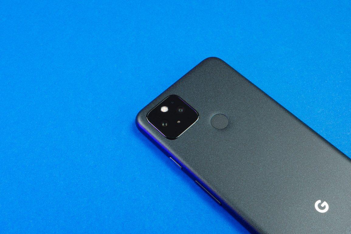 Google Pixel 5 : capteurs photo