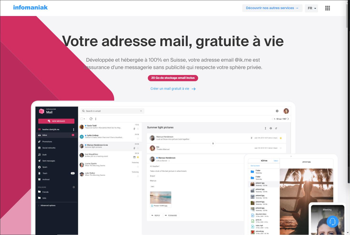 Quitter Gmail en 2021 - Ik.me