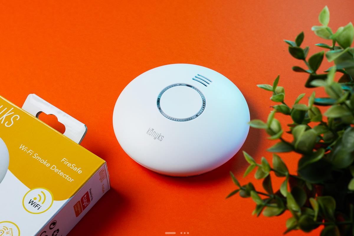 Test détecteur de fumée Konyks FireSafe